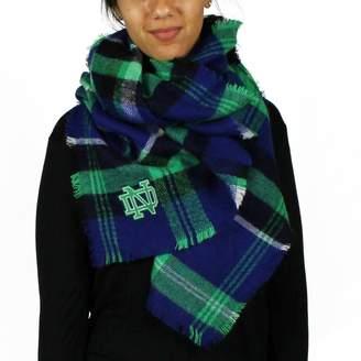 Tailgate Zoozatz Women's Notre Dame Fighting Irish Blanket Scarf