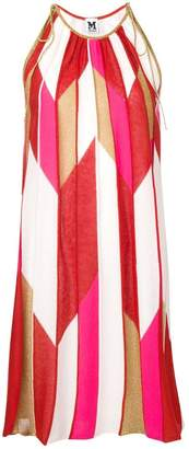 M Missoni geometric print knit dress