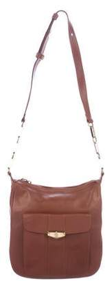 Mark Cross Vintage Leather Pocket Shoulder Bag