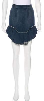 McGuire Denim Denim Knee-Length Skirt w/ Tags