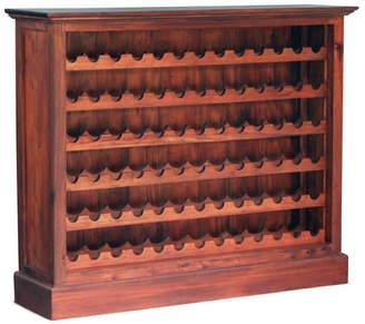 Wide Wine Rack Finish: Mahogany