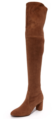 Casadei Over the Knee Boots $1,295 thestylecure.com