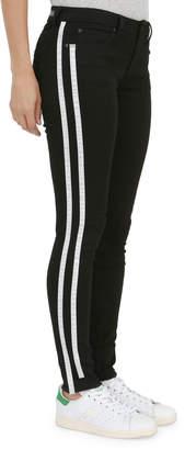 Articles of Society Sarah Skinny Contrast Stripes Denim Pants