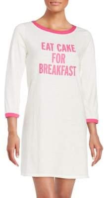 Kate Spade Graphic Text Sleepshirt