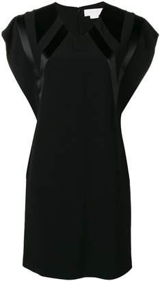 Genny V-neck mini dress