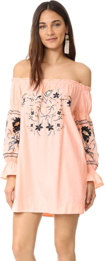 Free People Fleur Du Jour Mini Dress 10