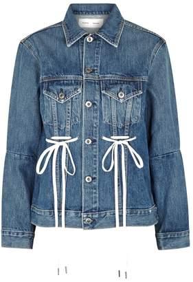 Proenza Schouler Blue Denim Jacket