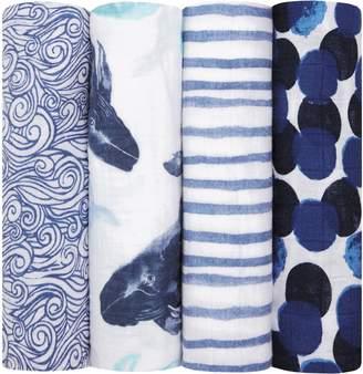 Aden Anais aden + anais Set of 4 Classic Swaddling Cloths