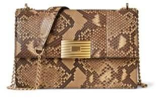 Ralph Lauren Python Rl Chain Bag Rl Tan One Size