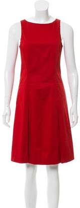 Burberry Sleeveless Pleated Dress