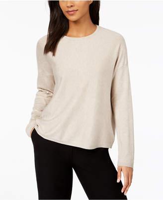 Eileen Fisher Tencel Crew-Neck Sweater