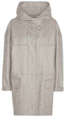 Etoile Isabel Marant Isabel Marant, Étoile Elton virgin wool-blend coat