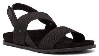 Hunter Double Strap Webbing Sandal