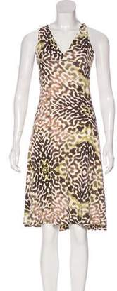 Just Cavalli Abstract Printed Midi Beard w/ Tags