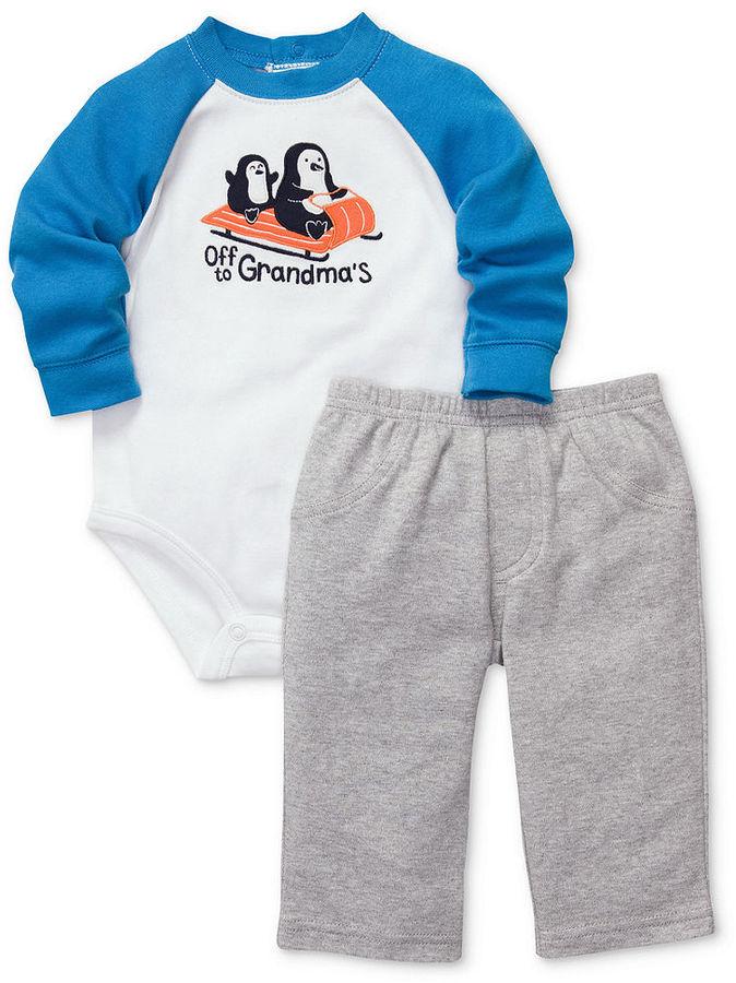 Carter's Baby Set, Baby Boys 2-Piece Bodysuit and Pants