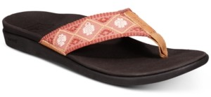 Reef Ortho Bounce Woven Flip-Flop Sandals Women's Shoes