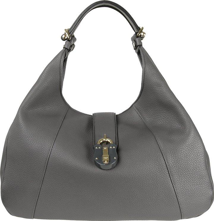 Loewe Calle Leather Hobo