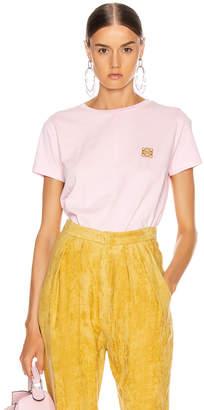Loewe Asymmetric T Shirt in Pale Pink | FWRD