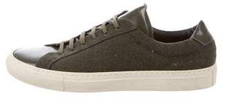 Common Projects Wool Low-Top Sneakers