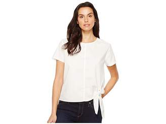 Calvin Klein Jeans Poplin Tie Tee Women's T Shirt
