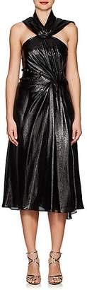 Prabal Gurung Women's Silk-Blend Lamé Cocktail Dress - Black