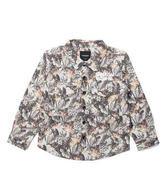 SUPERISM Eli Graphic Woven Shirt