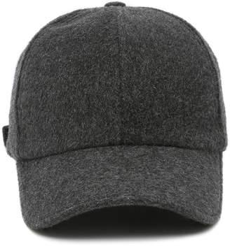 Officine Generale Wool-Cashmere Baseball Cap