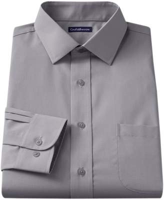 Croft & Barrow Men's Slim-Fit Easy Care Spread-Collar Dress Shirt