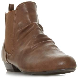Head Over Heels by Dune - Tan 'Prias' Ankle Boots