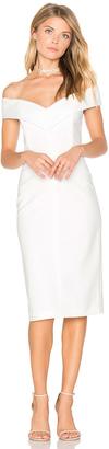 Alice + Olivia Luana Off Shoulder Dress $330 thestylecure.com