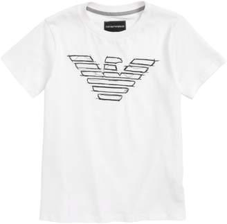 Armani Junior Eagle Logo T-Shirt