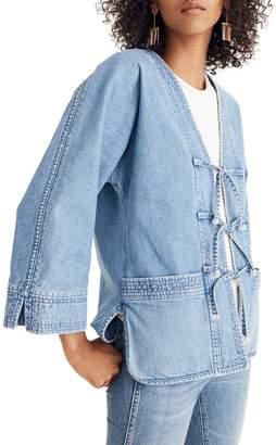 Madewell Denim Kimono Chore Jacket