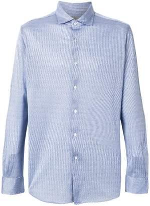Xacus button slim-fit shirt