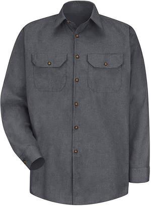 JCPenney Red Kap Poplin Uniform Shirt
