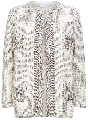 Claudie Pierlot Fringed Knitted Cardigan
