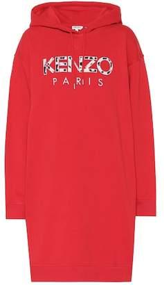 Kenzo Oversized printed cotton sweatshirt