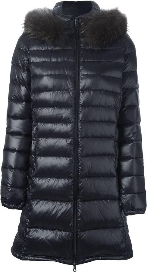 DuveticaDuvetica padded hooded coat