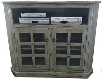 """AmericanHeartland Rustic Corner TV Stand for TVs up to 55"""""""