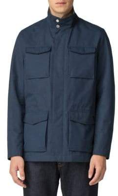 Ben Sherman Drawcord Four-Pocket Jacket
