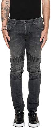 Diesel Dark Gray Fourk Denim Jeans