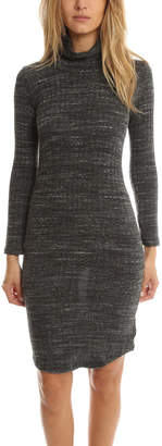 Monrow Knit Turtleneck Dress