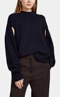 Jil Sander Women's Wool-Cashmere Crewneck Sweater - Navy