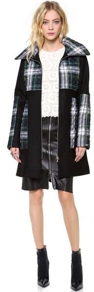 Suno Quilted Long Coat