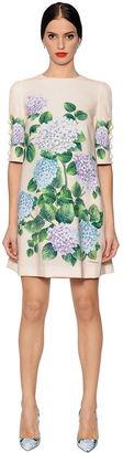 Hydrangea Printed Cady Dress $1,995 thestylecure.com