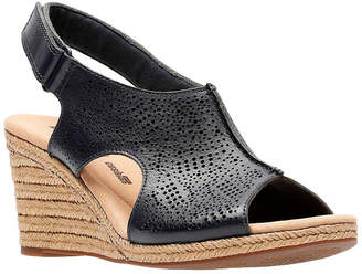 Clarks Collection Women Lafely Rosen Wedge Sandals Women Shoes