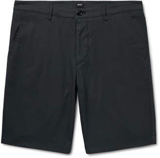 HUGO BOSS Slim-Fit Stretch-Cotton Shorts