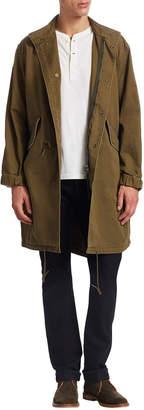 Saint Laurent Paris Mock Neck Jacket