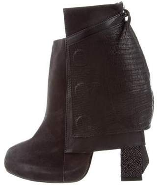 Chrissie Morris Suede Ankle Boots