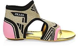 Prada Women's Flat Thong Sandals