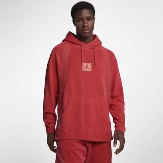 Jordan Sportswear Wings Men's Washed Fleece Pullover Hoodie